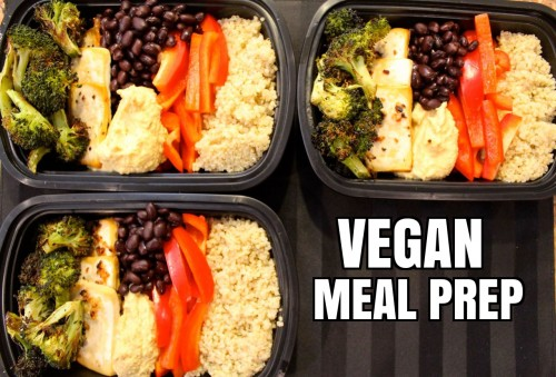 How To Vegan Meal Prep