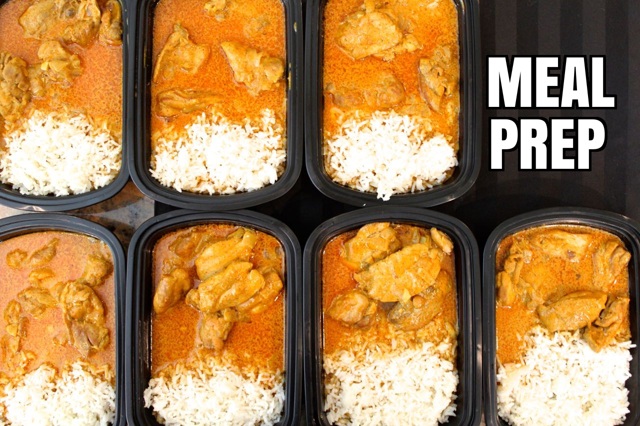 How To Meal Prep Chicken Ti...