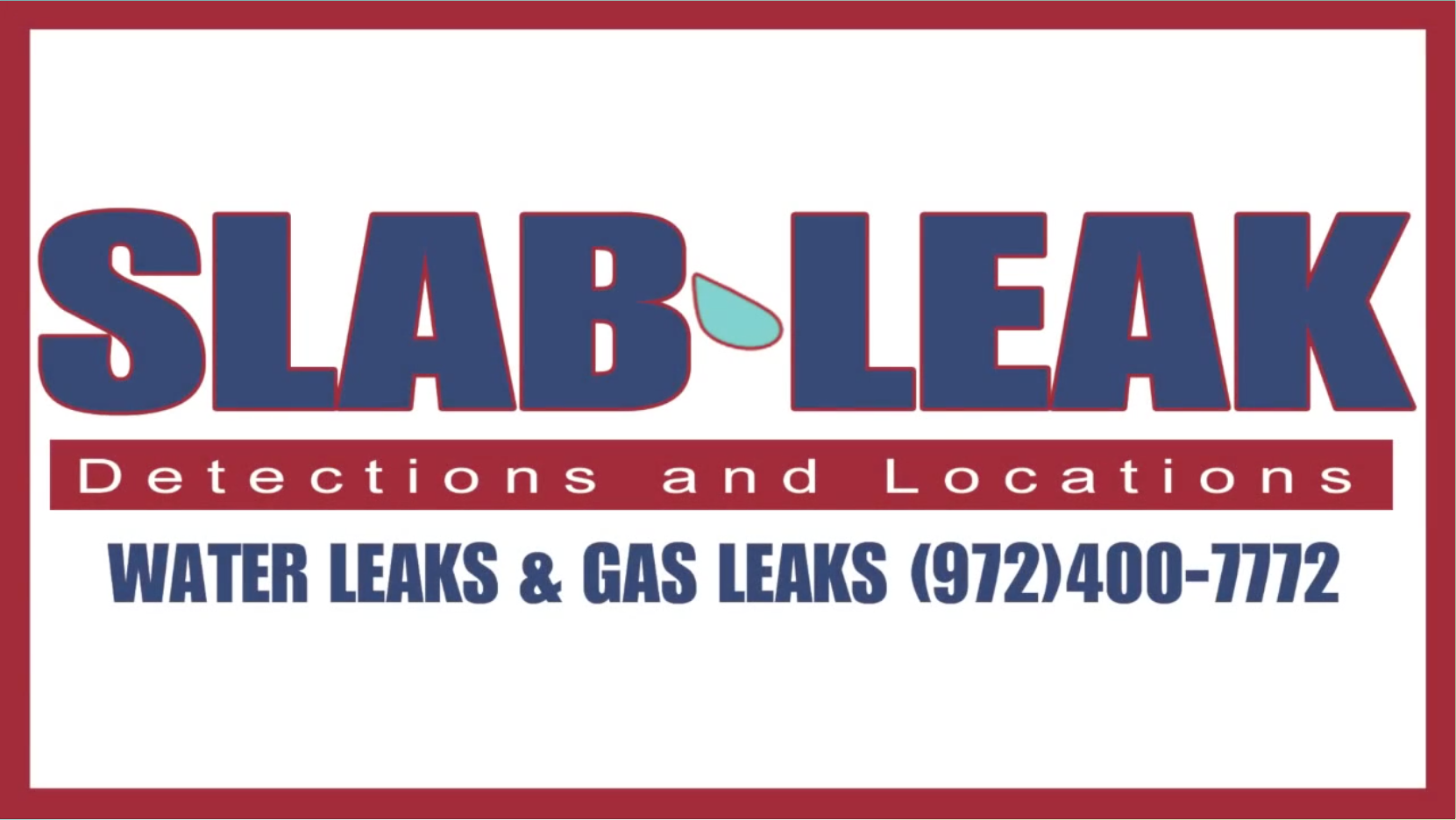 Slab Leak Detection And Repair