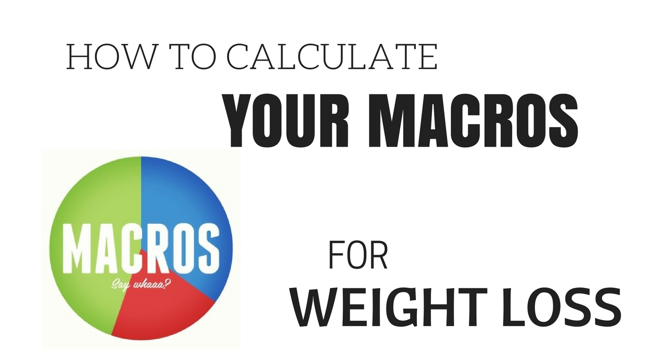 Macro Calculation for Weigh...