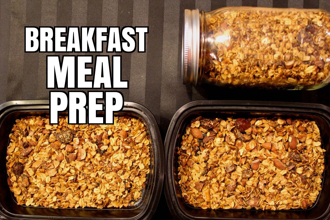 Breakfast Granola Meal Prep
