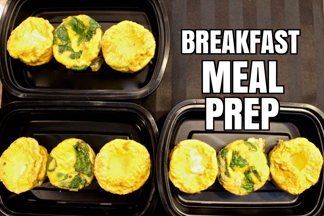 Breakfast Meal Prep - Eggs
