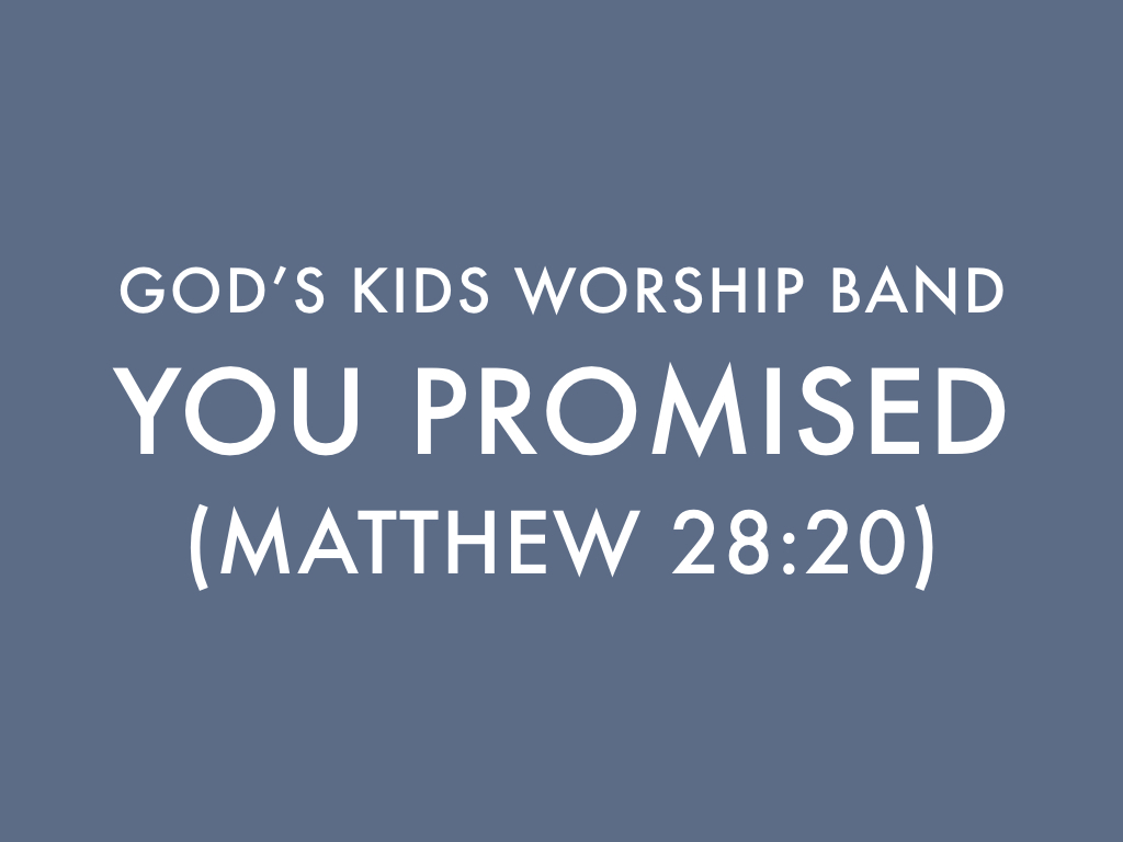 God s Promises in Song for ...
