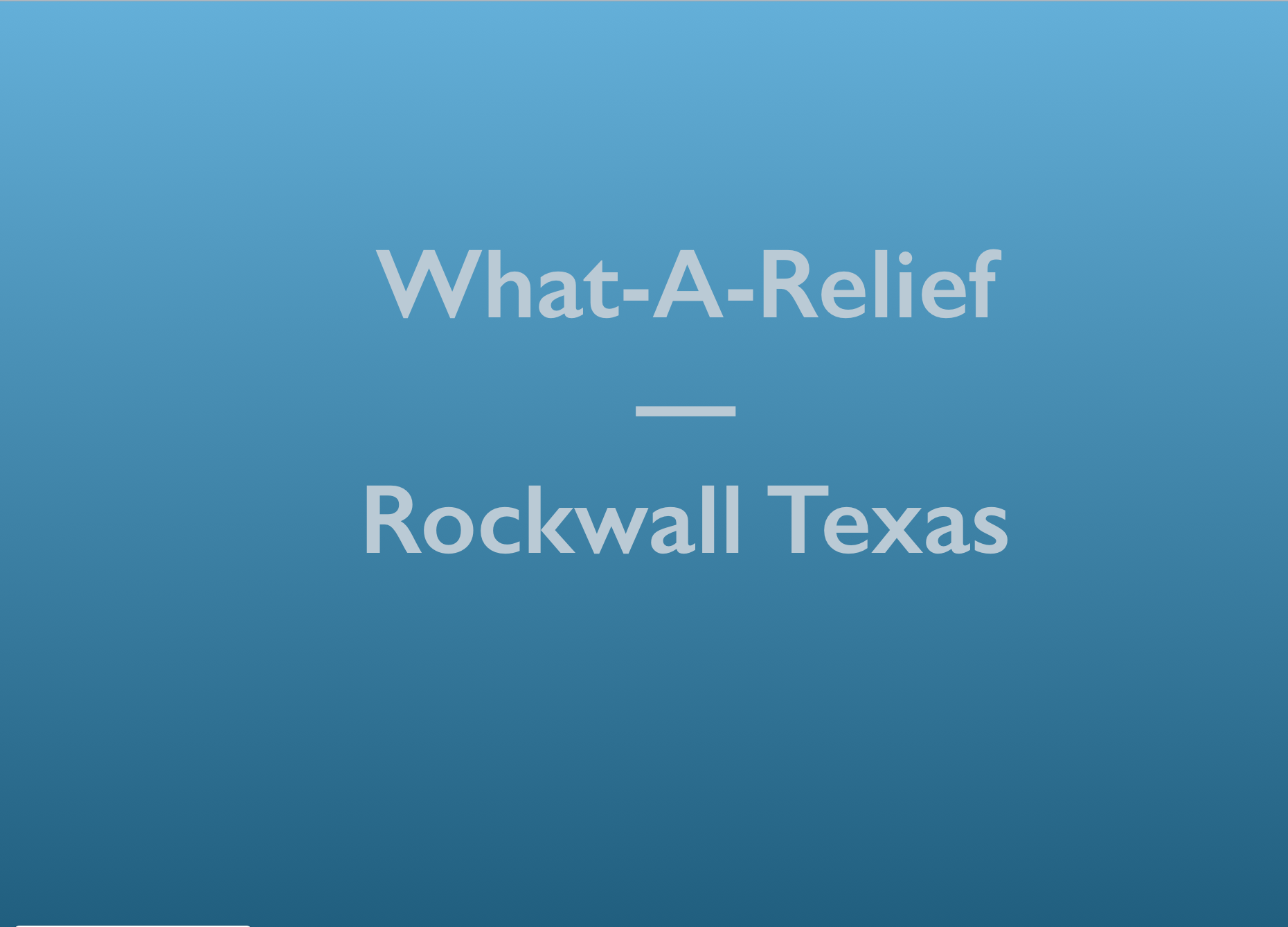 WAR Rockwall